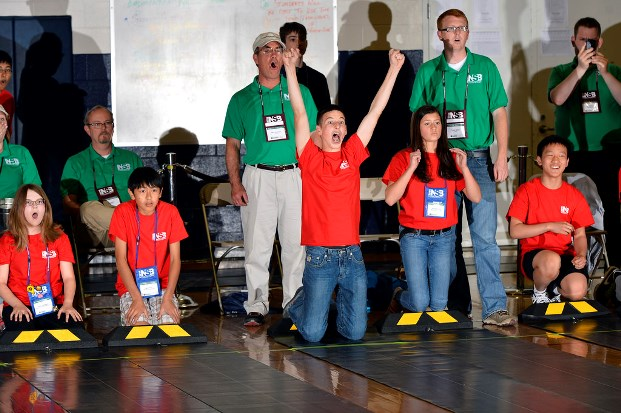 Panhandle Junior High takes second at National Science Bowl Car Race