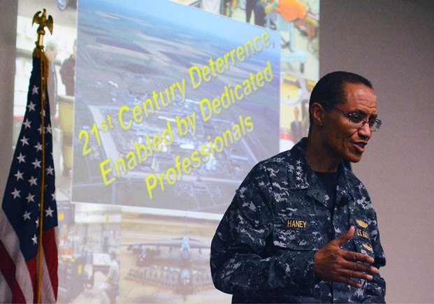 Admiral Cecil Haney, Commander, USSTRATCOM