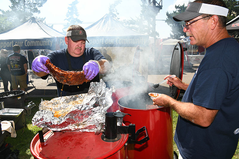 Pantex Fire Department takes first at BBQs