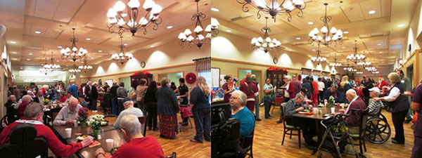 Ussery-Roan State Veterans Home Christmas Party