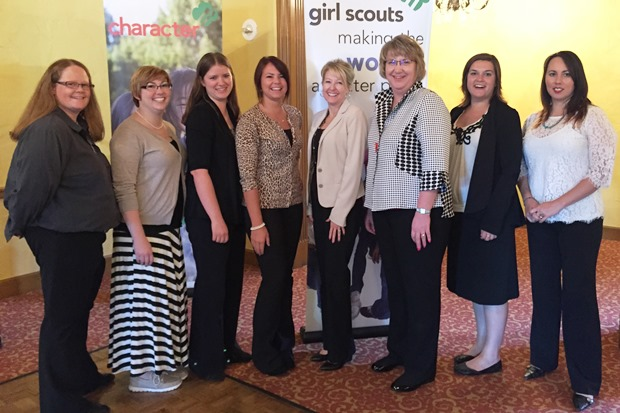 Girl Scouts Women of Distinction award luncheon