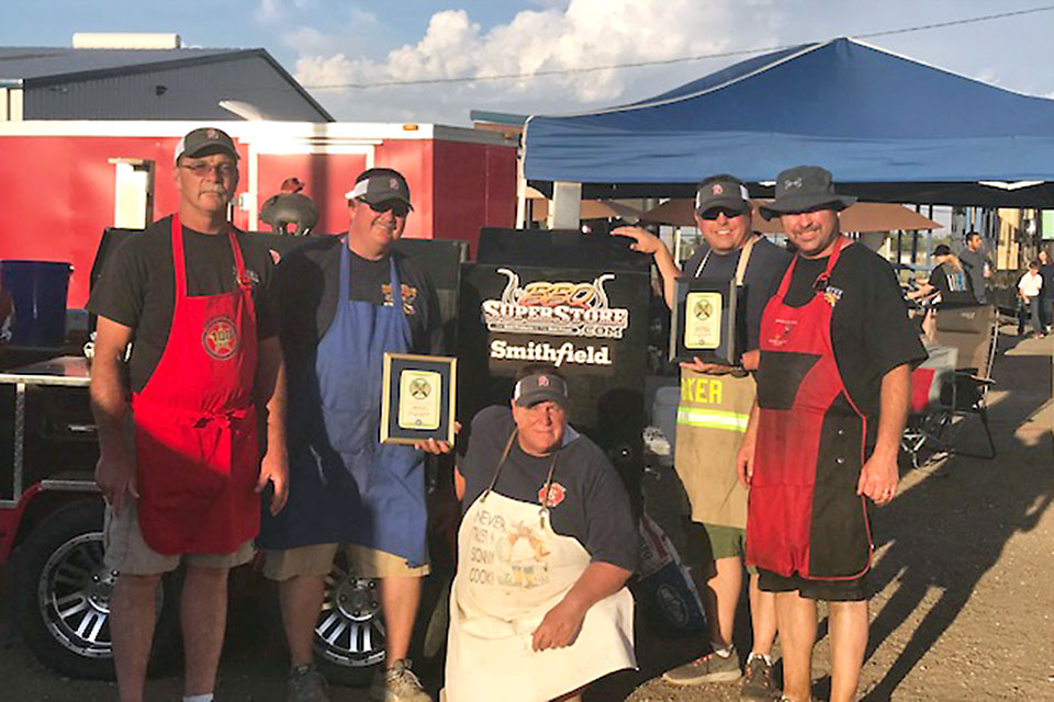 Battle of Badges Cook-off Winners